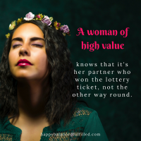 I'm a woman of high value & I love it